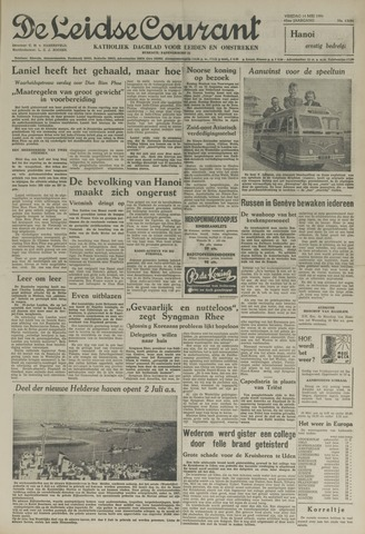 Leidse Courant 1954-05-14