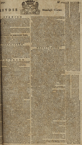 Leydse Courant 1752-10-16