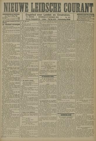 Nieuwe Leidsche Courant 1923-10-27