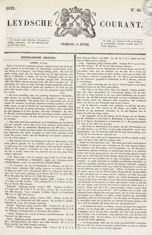 Leydse Courant 1853-06-03