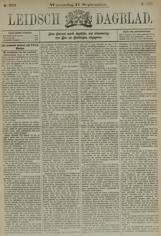 Leidsch Dagblad 1890-09-17