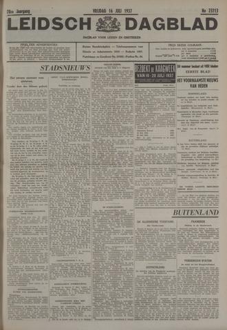 Leidsch Dagblad 1937-07-16