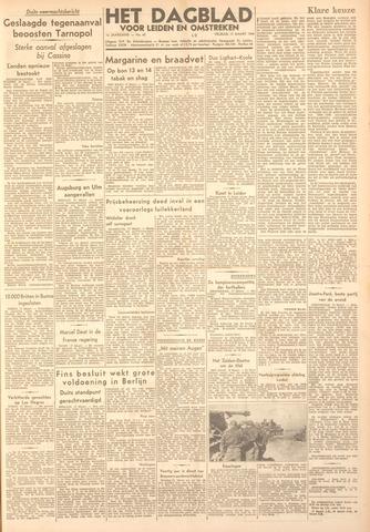 Dagblad voor Leiden en Omstreken 1944-03-17