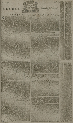 Leydse Courant 1749-07-14