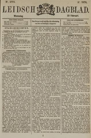 Leidsch Dagblad 1876-02-23