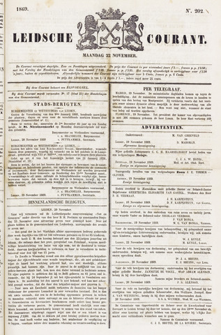 Leydse Courant 1869-11-22