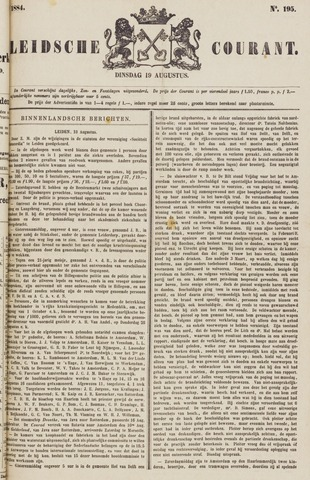 Leydse Courant 1884-08-19