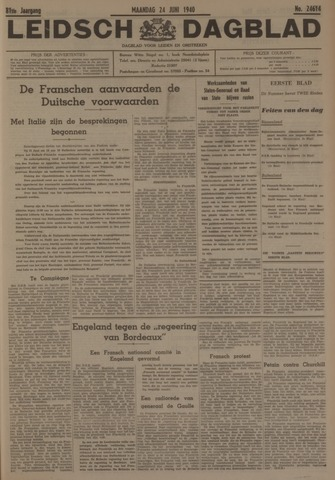 Leidsch Dagblad 1940-06-24