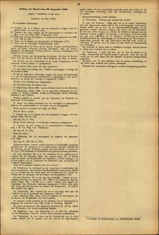 Handelingen van de Raad 1889-08-29