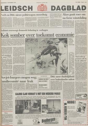 Leidsch Dagblad 1990-11-01