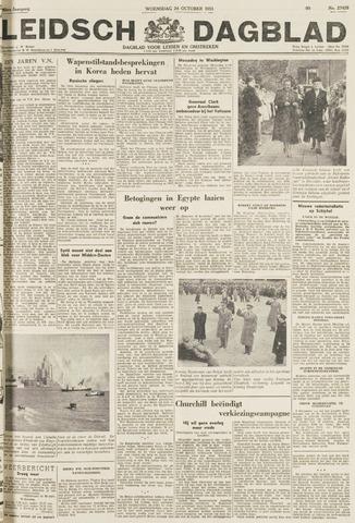 Leidsch Dagblad 1951-10-24