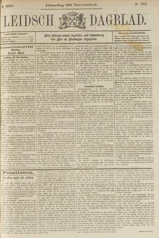 Leidsch Dagblad 1892-11-29