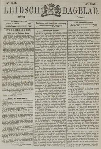 Leidsch Dagblad 1878-02-01