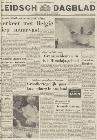 Leidsch Dagblad 1967-09-12