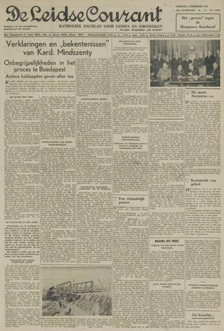 Leidse Courant 1949-02-04