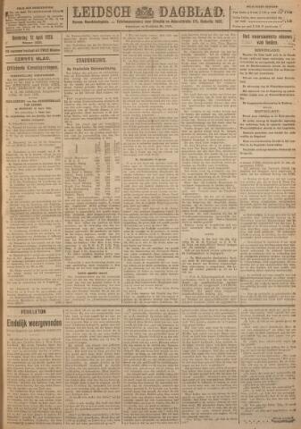 Leidsch Dagblad 1923-04-12