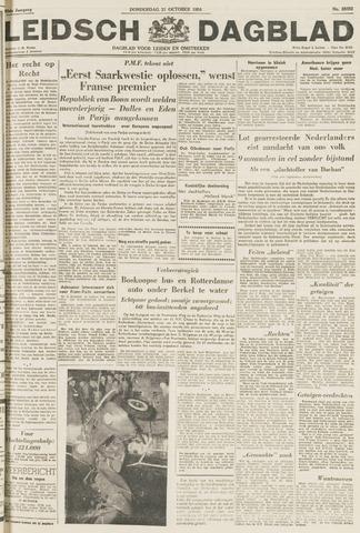Leidsch Dagblad 1954-10-21