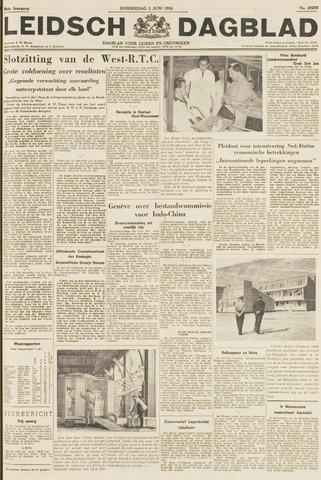 Leidsch Dagblad 1954-06-03