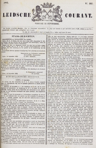 Leydse Courant 1882-09-15