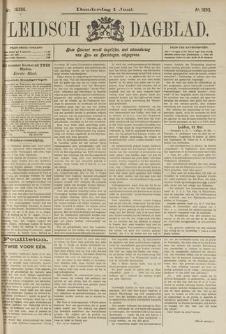 Leidsch Dagblad 1893-06-01