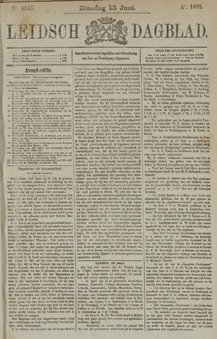 Leidsch Dagblad 1882-06-13
