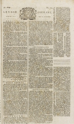Leydse Courant 1819-08-27