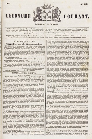 Leydse Courant 1873-10-30