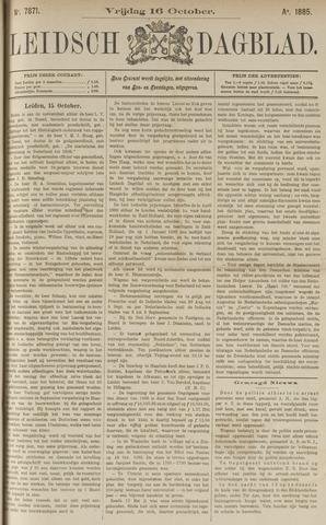 Leidsch Dagblad 1885-10-16