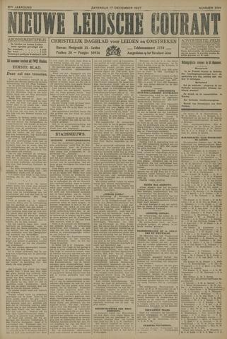 Nieuwe Leidsche Courant 1927-12-17