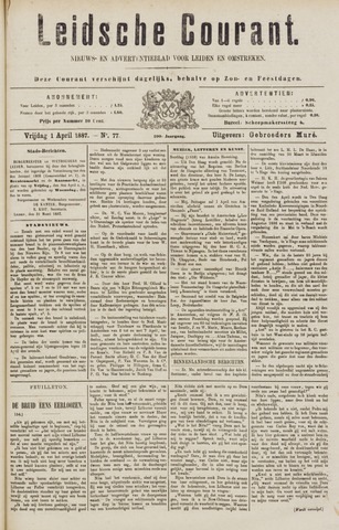 Leydse Courant 1887-04-01