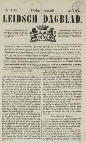 Leidsch Dagblad 1864