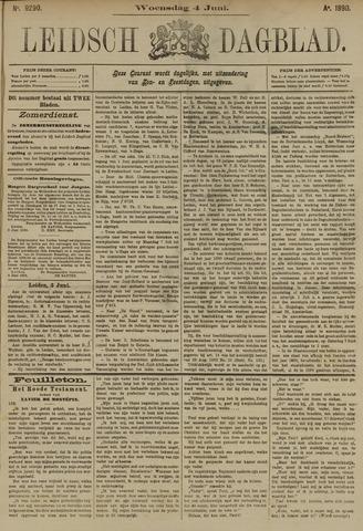Leidsch Dagblad 1890-06-04