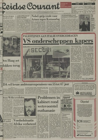 Leidse Courant 1985-10-11