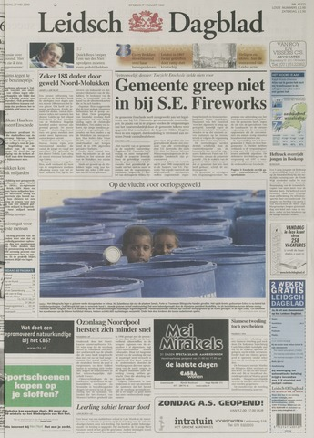 Leidsch Dagblad 2000-05-27