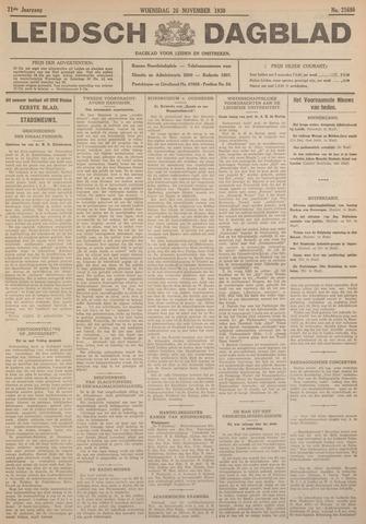 Leidsch Dagblad 1930-11-26