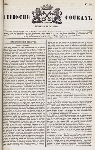 Leydse Courant 1876-10-31