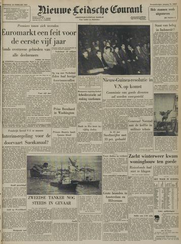 Nieuwe Leidsche Courant 1957-02-20