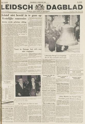 Leidsch Dagblad 1954-02-08