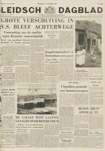 Leidsch Dagblad 1962-11-07