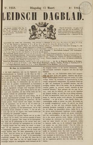 Leidsch Dagblad 1864-03-15
