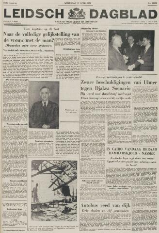 Leidsch Dagblad 1956-04-11