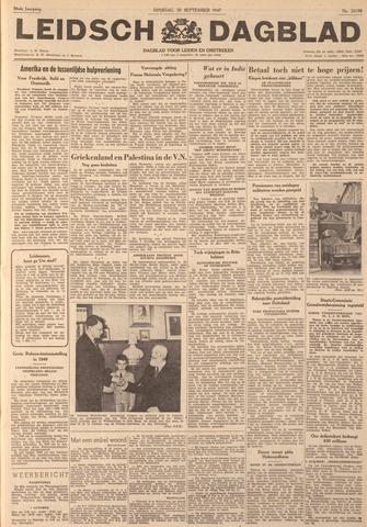 Leidsch Dagblad 1947-09-30