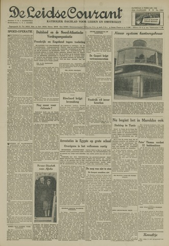 Leidse Courant 1952-02-02