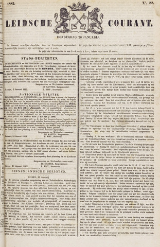 Leydse Courant 1882-01-26