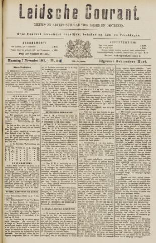 Leydse Courant 1887-11-07
