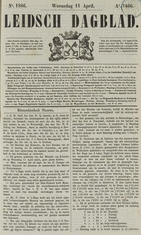 Leidsch Dagblad 1866-04-11