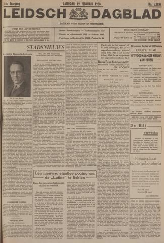 Leidsch Dagblad 1938-02-19