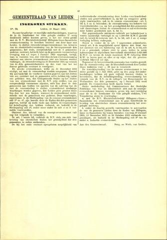 Handelingen van de Raad 1933-03-28