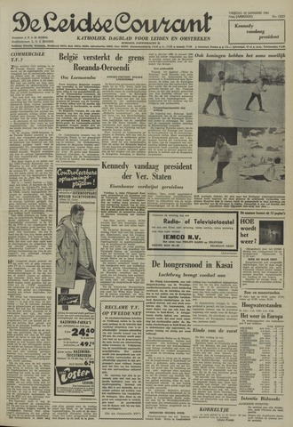 Leidse Courant 1961-01-20