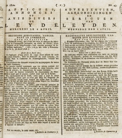 Leydse Courant 1812-04-08